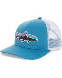 Patagonia - 'fitz Roy - Trout' Trucker Hat - Lyst