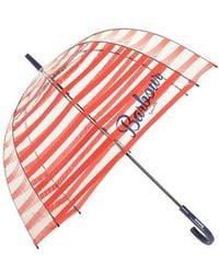 Barbour | Stripe Bubble Umbrella | Lyst