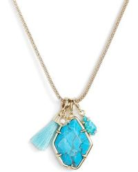 Kendra Scott - Hailey Necklace - Lyst