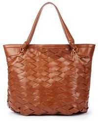 Sole Society - Adrina Faux Leather Tote - Lyst
