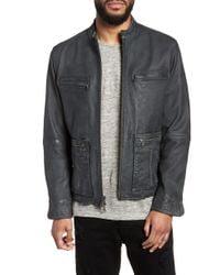John Varvatos - John Varvatos X Nick Jonas Modern Moto Jacket - Lyst