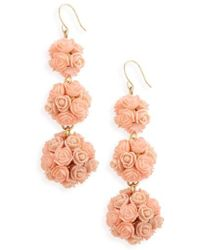 BaubleBar - Floral Crispin Earrings - Lyst