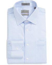 John W. Nordstrom - John W. Nordstrom Classic Fit Non-iron Check Dress Shirt - Lyst