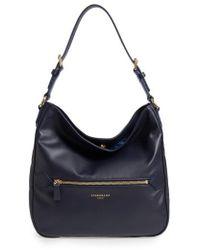 Longchamp - 2.0 Leather Hobo - Lyst
