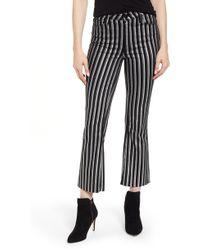 PAIGE - Colette High Waist Crop Flare Jeans - Lyst