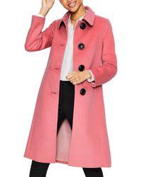 89b7881765b7 Boden - Conwy Wool Blend Coat - Lyst