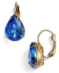 Sorrelli - Dew Drop Crystal Earrings - Lyst