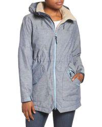 Burton - Prowess Fleece Lined Water Resistant Jacket - Lyst