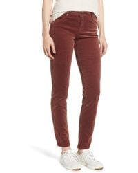 Kut From The Kloth - Diana Stretch Corduroy Skinny Pants - Lyst