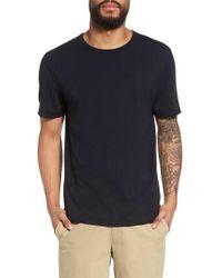 Vince - Reverse Hem Slim Fit T-shirt - Lyst