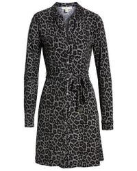 Kors by Michael Kors - Michael Michael Kors Leopard Plaid Shirtdress - Lyst