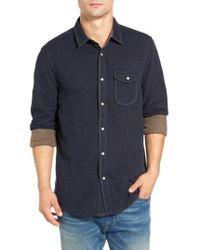 Jeremiah - Chase Melange Sport Shirt - Lyst