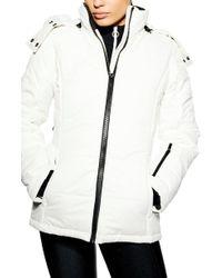 TOPSHOP - Sno Baby Ski Jacket - Lyst