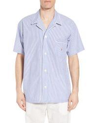 Polo Ralph Lauren - Seersucker Pajama Shirt - Lyst