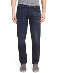 7 For All Mankind - 7 For All Mankind 'straight' Slim Straight Leg Jeans - Lyst