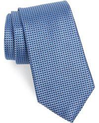 Nordstrom - Russo Geo Print Silk Tie - Lyst