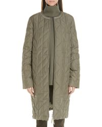 Lafayette 148 New York - Callahan Quilted Coat - Lyst