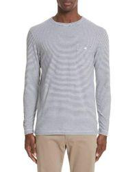 Todd Snyder - Stripe Long Sleeve T-shirt - Lyst