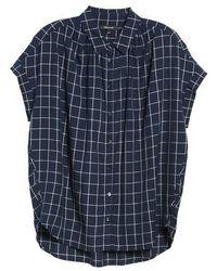 Madewell - Central Windowpane Check Shirt - Lyst