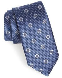 John W. Nordstrom - John W. Nordstrom Barolo Medallion Silk Tie - Lyst
