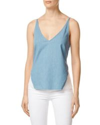 J Brand - Lucy Illusion Back Camisole - Lyst
