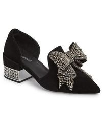 Jeffrey Campbell - Valenti Embellished Bow Loafer - Lyst