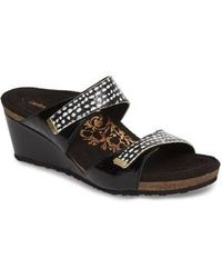 Aetrex - Chantel Wedge Sandal - Lyst