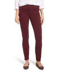 Jen7 - Colored Stretch Denim Skinny Jeans - Lyst