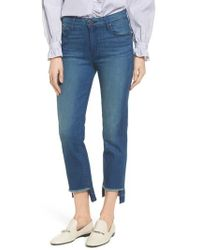Parker Smith - Pin-up Straight Leg Crop Jeans - Lyst