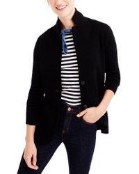 J.Crew - Merino Wool Sweater Blazer - Lyst