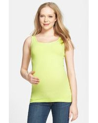 Tees by Tina - Seamless Maternity Tank - Lyst