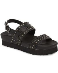 2802d2b9b Lyst - Rag   Bone Rubber Slide Sandals in Black
