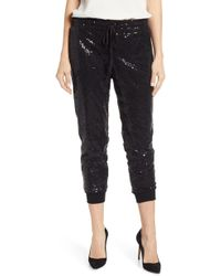 Gibson - X Glam Squad Ashley Sequin Jogger Pants - Lyst