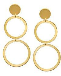 Lana Jewelry - Double Drop Earrings - Lyst