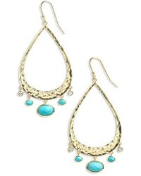 Melinda Maria - Nancy Teardrop Earrings - Lyst