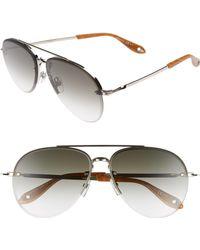 f3a7a077bd065 Lyst - Givenchy Star-detail Wayfarer Sunglasses