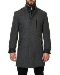 Maceoo - Captain Wool Blend Coat - Lyst