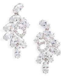 Nina | Cluster Branch Stud Earrings | Lyst
