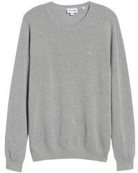 Lacoste - Pique Cotton Sweater - Lyst