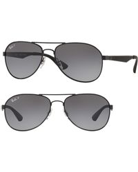 9f53a6dd26a Ray-Ban - Active Lifestyle 61mm Polarized Pilot Sunglasses - - Lyst