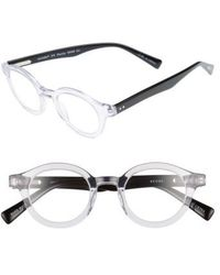 Eyebobs - Eyebob Tv Party 44mm Reading Glasses - Crystal With Black - Lyst