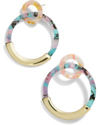 BaubleBar - Daniya Hoop Earrings - Lyst