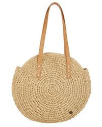 Billabong - Round About Straw Tote - Lyst