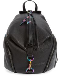 Rebecca Minkoff - Julian Always On Charging Leather Backpack - Lyst