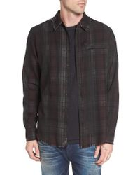 True Religion - Coated Punk Woven Shirt - Lyst
