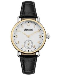 INGERSOLL WATCHES - Ingersoll Trenton Leather Strap Watch - Lyst
