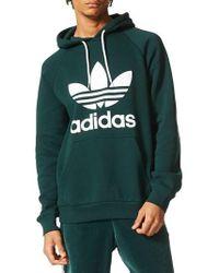 Adidas | Originals Trefoil Graphic Hoodie | Lyst