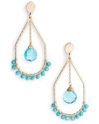 Nashelle | Sunset Drop Earrings | Lyst