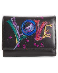 Christian Louboutin - Boudoir Mini Trifold Leather Wallet - Lyst
