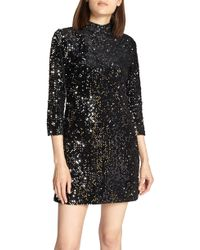 Sanctuary - Keep Your Heads Up Sequin Shift Dress - Lyst